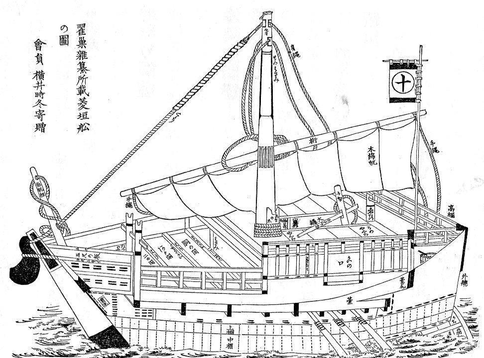 樽 檜垣 廻船 廻船